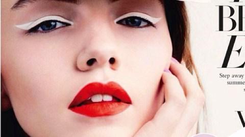 Instagram Insta-Glam: White Eyeliner | StyleCaster