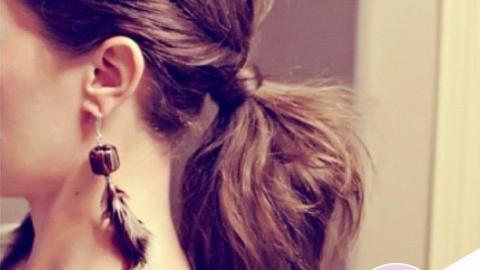 Instagram Insta-Glam: Fancy Ponytails | StyleCaster