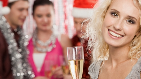 How to Mask a Late Night Holiday Party | StyleCaster