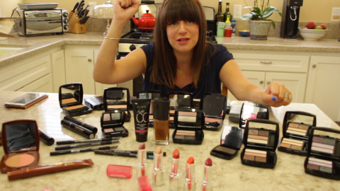 Celebrity Makeup Artist Jamie Greenberg Shows Us Her YouTube Haul | StyleCaster