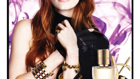 Jessica Chastain's New YSL Fragrance Ad Features Smokey Eye, Loose Waves | StyleCaster