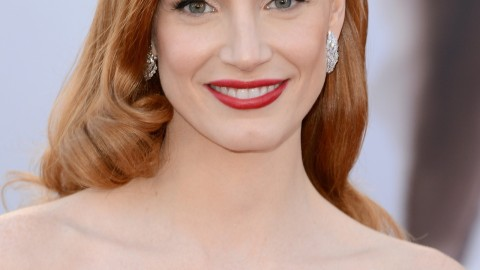 Oscars How-To: Get Jessica Chastain's Old Hollywood Glamour Hair | StyleCaster