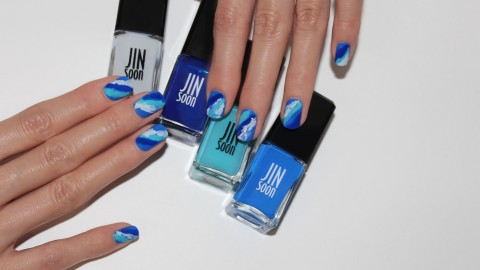 Ride the Summer Nail Art Wave   StyleCaster