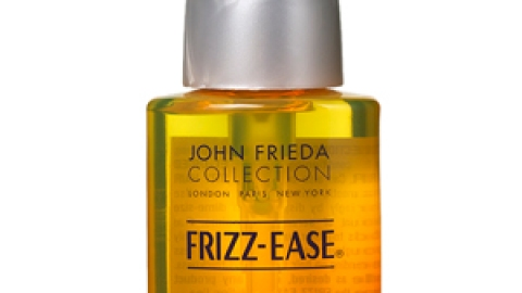 Cheap Trick: John Frieda Frizz-Ease Hair Serum Thermal Protection Smooths and Protects | StyleCaster
