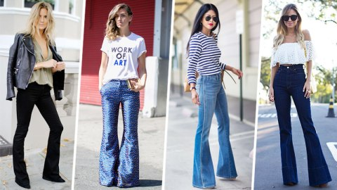 70 Ways to Work Flared Pants   StyleCaster
