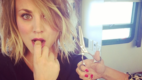 Beauty Buzz: Kaley Cuoco Chopped Off Her Hair, Kelly Rowland's Blemish Trick, More   StyleCaster