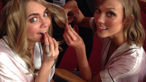 Best Instagrams From Backstage at the Victoria's Secret Fashion Show | StyleCaster