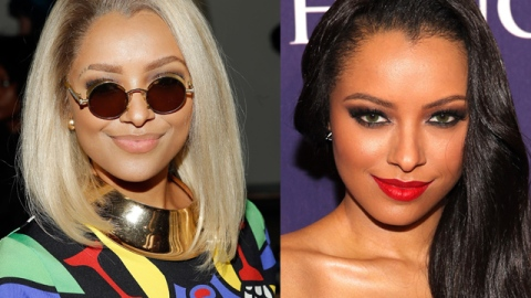 """""""The Vampire Diaries"""" Star Kat Graham Credits Drag Queens As Her Biggest Beauty Influence 