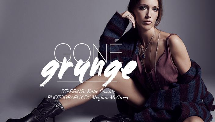 """Arrow"" Star Katie Cassidy Models '90s Beauty Trends, Spills Worst Beauty Mistakes"
