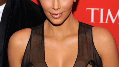 How to Get Kim Kardashian's Gold Eye Look   StyleCaster