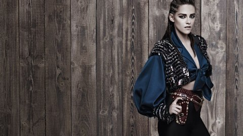 Kristen Stewart Goes For Graphic Liner and Cornrows in New Chanel Campaign | StyleCaster
