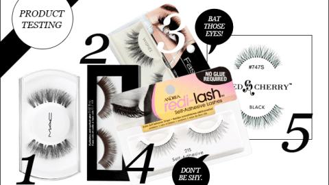 The Best False Eyelashes for Dramatic Eyes | StyleCaster