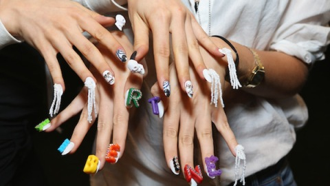 8 of the Craziest Things on Libertine's Nails   StyleCaster