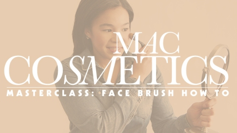 Exactly How to Use the New MAC Masterclass Face Brushes | StyleCaster