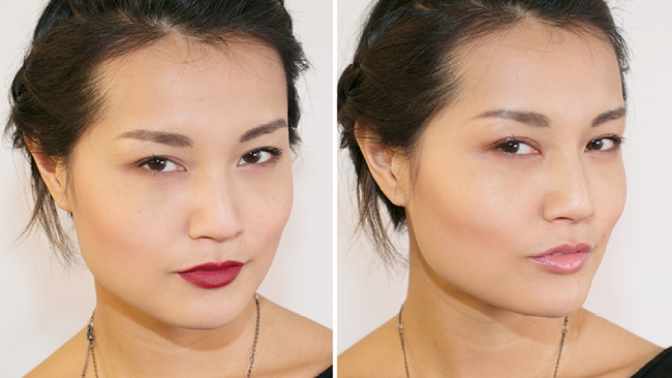 One Look Two Finishes Dewy Vs Matte Stylecaster