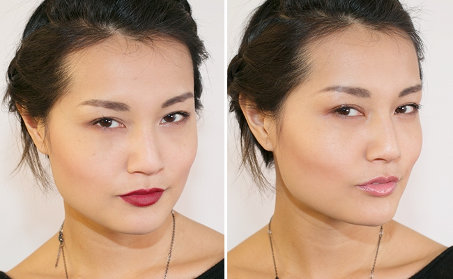 One Look, Two Finishes: Dewy Vs. Matte