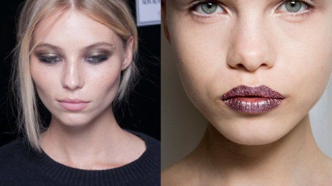 3 Different Ways to Wear the Metallic Makeup Trend This Fall | StyleCaster