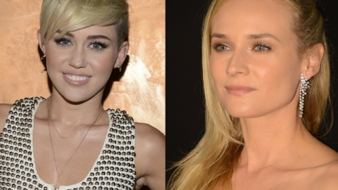 Best of the Week: Miley Cyrus, Diane Kruger, More Rock Flawless Skin & Nude Lips | StyleCaster
