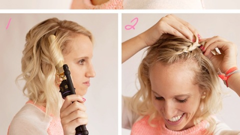 Short Prom Hairstyles: Try Out This Cute Braid Style | StyleCaster