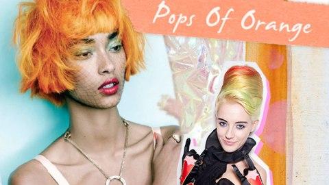 Mood Board: Pops of Orange for Spring | StyleCaster