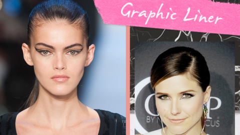 Mood Board: Graphic Liner | StyleCaster
