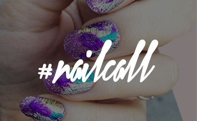 Tuesday's #NailCall: Abstract and Textured Manicures to Try