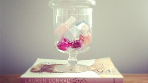8 DIY Nail Polish Organizers For Your Growing Collection   StyleCaster