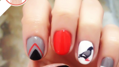 Tuesday's #NailCall: Stiletto Nails and Neon Polish | StyleCaster