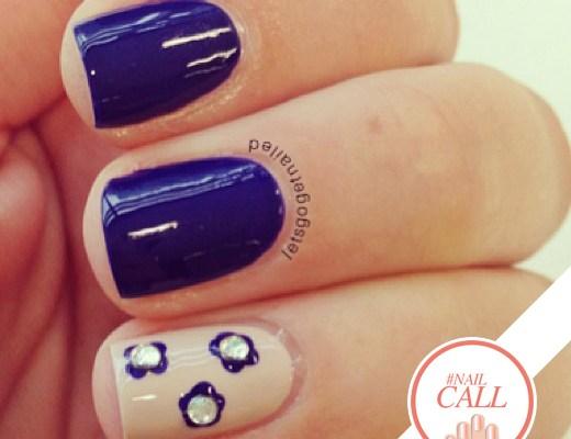 Tuesday's #NailCall: Summer Blues and 3D Nail Art