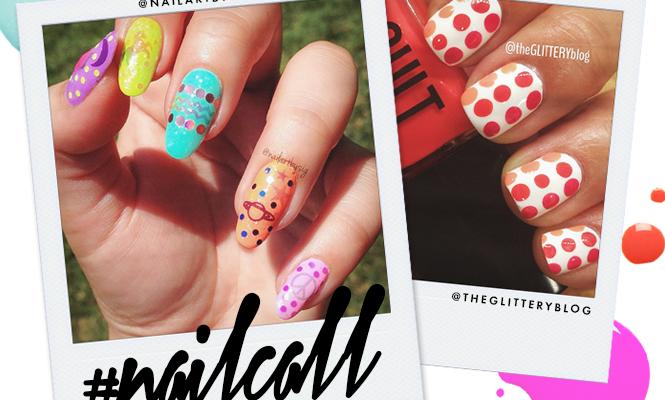 Tuesday's #NailCall: Summer Nail Art With Watermelons, Polka Dots and More