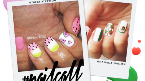 Tuesday's #NailCall: World Cup Nail Designs, Watermelon Tips, and More   StyleCaster