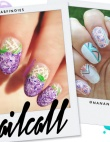 Tuesday's #NailCall: There's Nothing Like a Pastel Tribal Print
