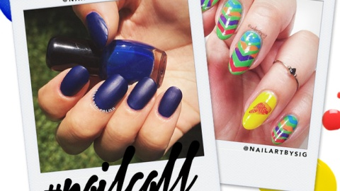 Tuesday's #NailCall: Here's to New Nail Trends | StyleCaster