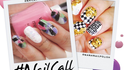 Tuesday's #NailCall: Spring Inspired Mani's | StyleCaster