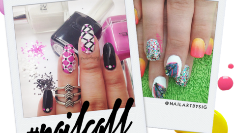 Tuesday's #NailCall: Pretty Prints and Flowers | StyleCaster