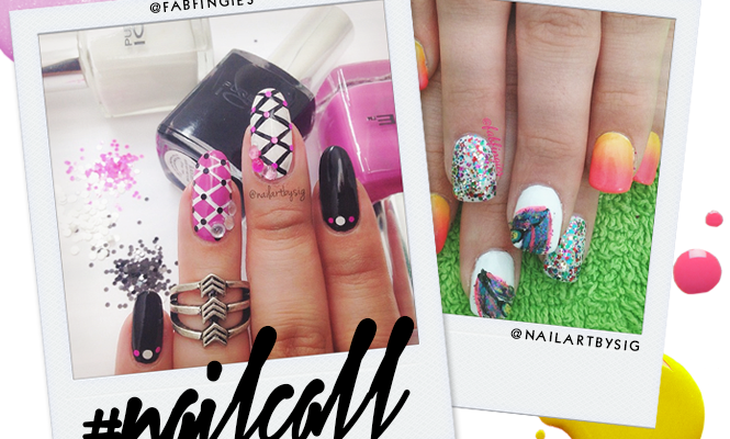 Tuesday's #NailCall: Pretty Prints and Flowers