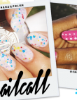 Tuesday's #NailCall: Palm Trees and Graffiti-Inspired Nail Designs