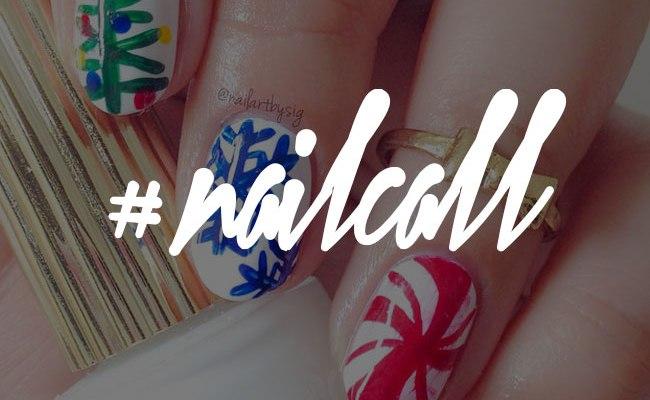 Tuesday's #NailCall: Feeling Festive