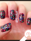 Tuesday's #NailCall: Stained Glass, Glitter & Gold