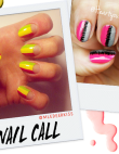 Tuesday's #NailCall: Simple Designs and Pops of Color