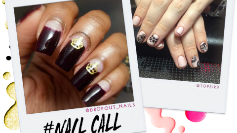 Tuesday's #NailCall: Negative Space Nails and Graphic Looks | StyleCaster