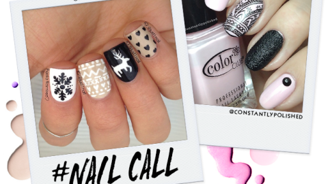 Tuesday's #NailCall: Holiday Designs and Holographic Looks | StyleCaster