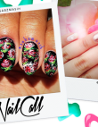 Tuesday's #NailCall: Floral Manicures Reign Supreme