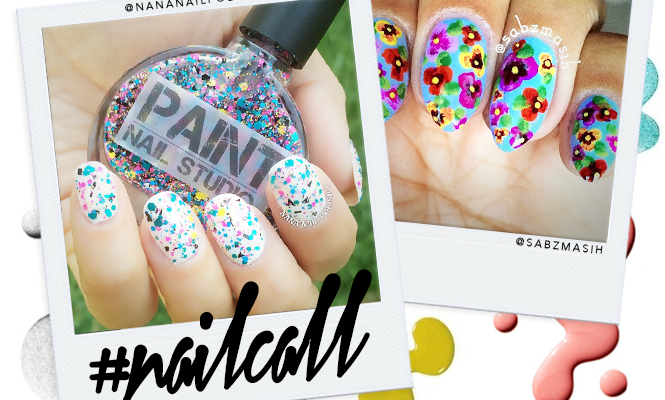 Tuesday's #NailCall: Pretty Pastel Manicures