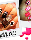 Tuesday's #NailCall: Cosmic Designs and Chevron Prints