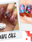 Tuesday's #NailCall: Galaxy Prints and Spooky Designs