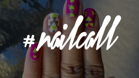 You Need to See These Graphic Nail Designs | StyleCaster