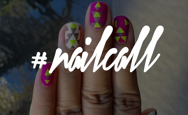 Tuesday's #NailCall: Psychedelic Prints