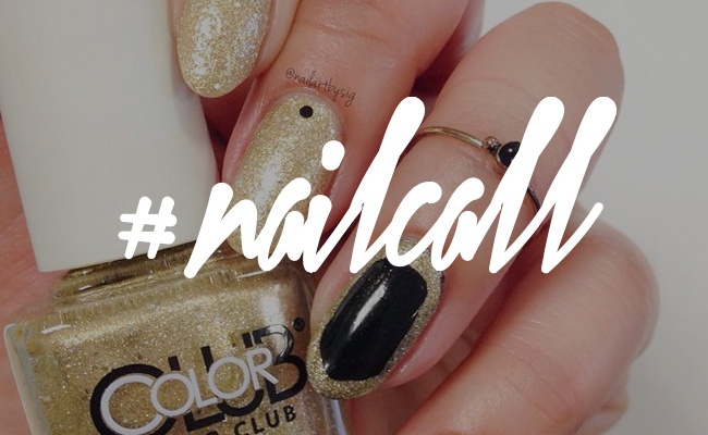 Tuesday's #NailCall: Eye-Catching Designs With Glitter and Metallics