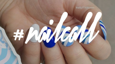 A Blue Mani Idea for Everyone | StyleCaster